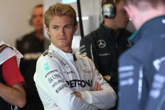 Rosberg verslaat Hamilton in strijd voor polepositie GP van de VS