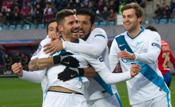 Ongeslagen Lombaerts en Witsel winnen topper bij CSKA Moskou