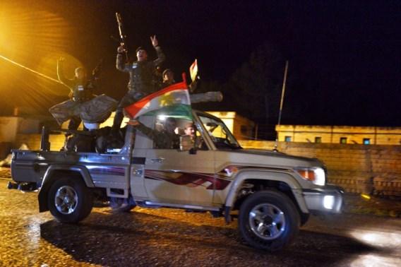 Peshmerga-strijders nemen 'strategische posities' in Kobani in