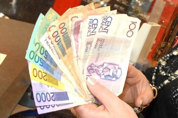 Een op de vijf jongeren wil weer betalen in Belgische frank