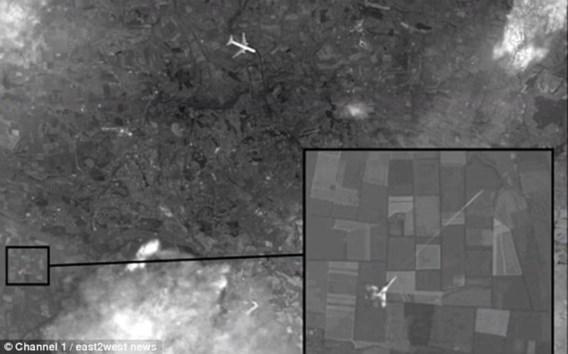 'MH17 neergehaald door gevechtsvliegtuig'