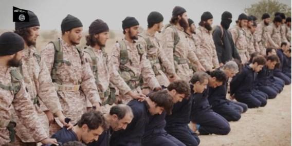 Op de jongste IS-video is een reeks ongemaskerde jihadi's te zien. Bij hen voor zover bekend geen Belg.