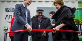 Tutu in België voor laatste Europese bezoek