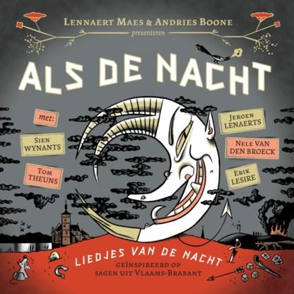 Beluister Als de nacht, de nieuwe cd van Lennaert Maes en Andries Boone