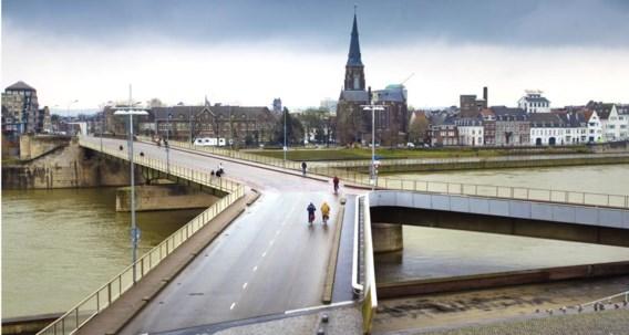 De Wilhelminabrug in Maastricht.