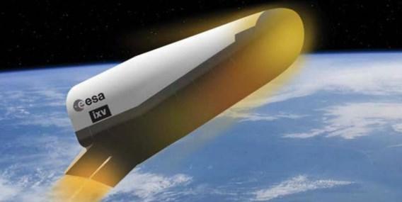 Europa lanceert op 11 februari 'vliegend strijkijzer'