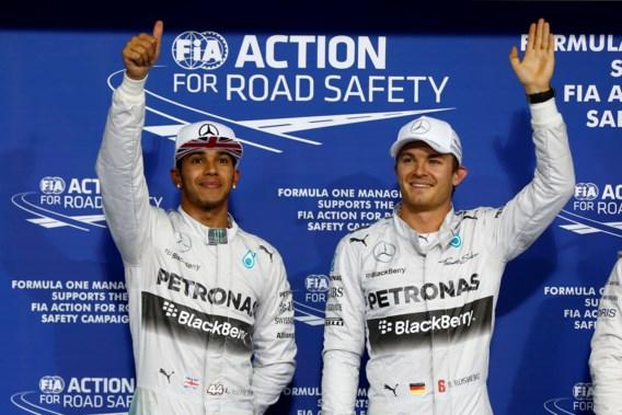 GP van Abu Dhabi: startgrid