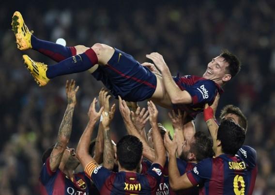 PRIMERA DIVISION. Messi breekt record, Ronaldo blijft maar scoren