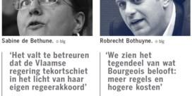 CD&V'ers schieten met scherp op Vlaamse regering