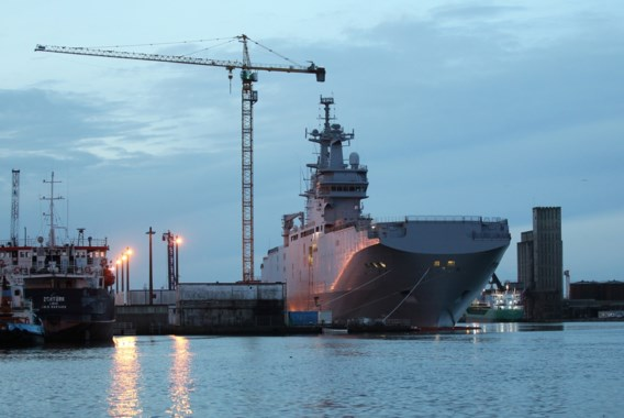 Geen Franse oorlogsschepen voor Poetin