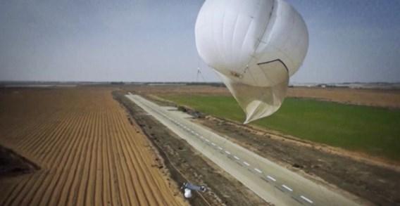Israëlische luchtballonnen met spionagesoftware registreren het doen en laten van Palestijnen in Oost-Jeruzalem.