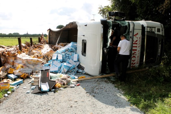 Poolse trucker had 4,7 promille alcohol in bloed bij crash