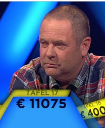 Pechvogel Peter van Diesen.