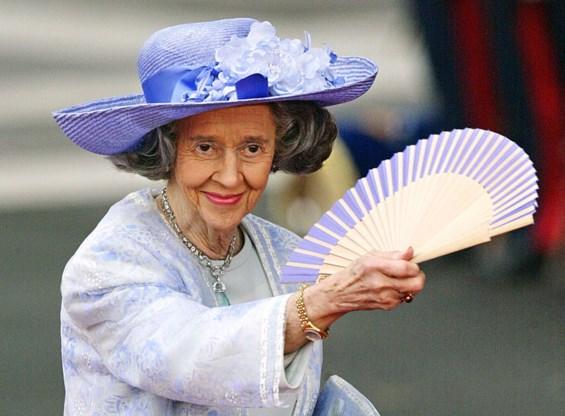 Koningin Fabiola heeft nog altijd personeel