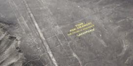 Greenpeace-activisten riskeren celstraf voor beschadigen Peruaans erfgoed