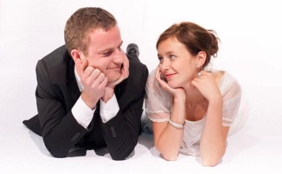 U mag de bruid kussen!