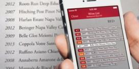 Laat je smartphone de wijnkaart lezen
