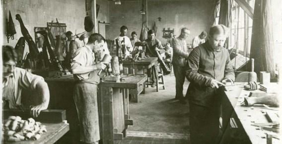 L'Océan had zijn eigen atelier waar prothesen werden gemaakt.