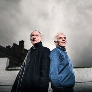 Onuitgegeven: Harold Polis en André Van Halewyck doen een boekje open
