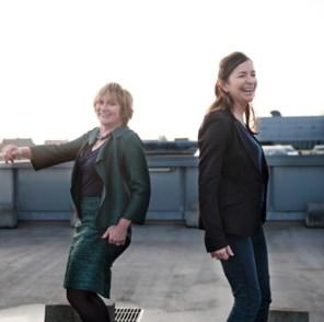 Catfight met handschoenen: Martine Tempels en Ilse Ceulemans