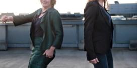 Catfight met handschoenen: Martine Tempels (Telenet) en Ilse Ceulemans (Charlie Mag)