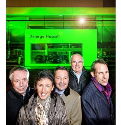 De initiatiefnemers willen Limburg 's avonds zoveel mogelijk in groen led-licht doen baden.