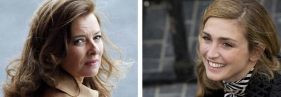 Intussen gaat het goed met Valérie Trierweiler. De verkoop van haar boek is daar allicht niet vreemd aan.  / Rechts: Julie Gayet is een regelmatige gast geworden in het Élysée. Maar wel in het geheim.