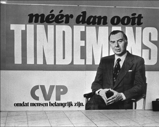De campagne voor de parlementsverkiezingen in 1977.
