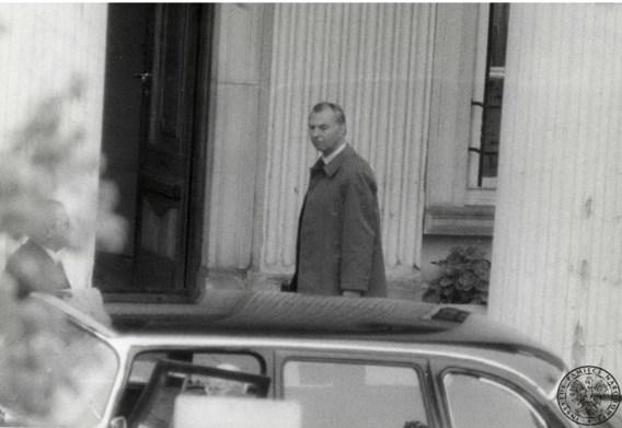 De Poolse geheime dienst fotografeert Leo Tindemans: strijder in de Koude Oorlog.