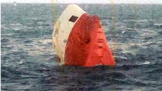 Acht vermisten nadat vrachtschip zinkt voor noordkust van Schotland