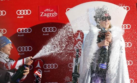 Amerikaanse Shiffrin primus in slalom Zagreb