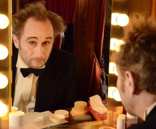 Sympathieke hommage aan Chaplin.
