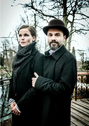 Angela Schijf en Tom Van Landuyt: 'Die knetterende verliefdheid gaat over. In het beste geval krijg je daar veel voor terug.'