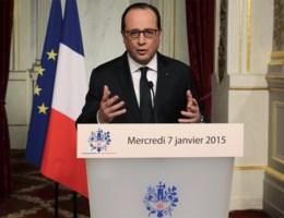 Hollande: 'Slachtoffers zijn gestorven voor de vrijheid'