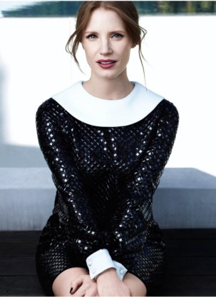 Jessica Chastain: 'Als actice krijg je de kans om veel te leren over mensen en over wat het betekent om mens te zijn.'