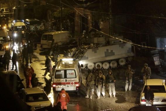 Negen doden bij zelfmoordaanslag in Libanon