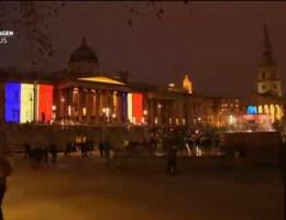 Hele wereld solidair met Parijs