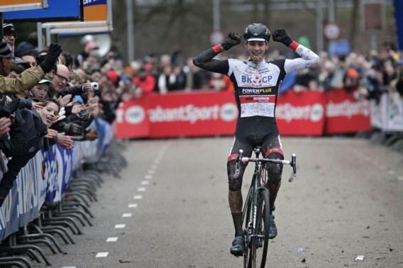 Luxepositie voor Nederlands kampioen van der Poel