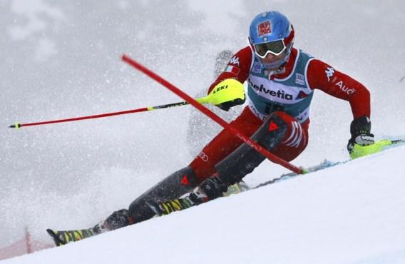 Stefano Gross slalomt naar eerste wereldbekerzege in Adelboden