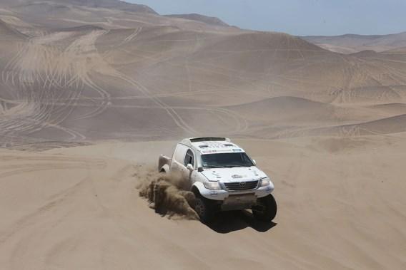 Brand betekent bijna einde Dakar-rally voor Colsoul