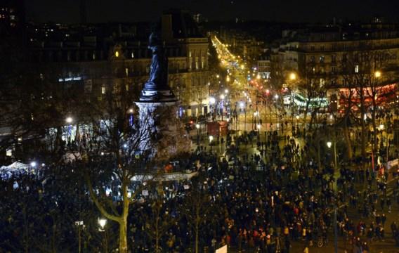 Minstens 3,7 miljoen Fransen stappen mee tegen terrorisme en voor vrijheid