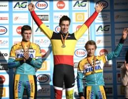 Laurens Sweeck kroont zich tot Belgisch kampioen bij de beloften