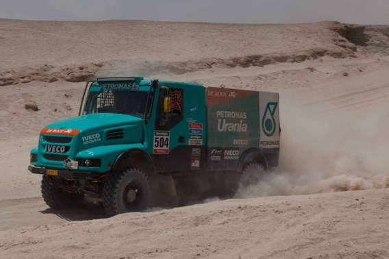 Dakar 2015: Serge Bruynkens wint ook slotetappe bij vrachtwagens
