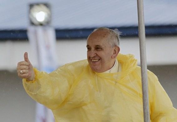 Tropische storm kort pauselijk bezoek aan Tacloban in