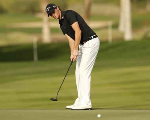 Thomas Pieters valt net buiten top drie in Abu Dhabi