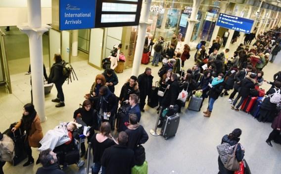 Tiental Eurostartreinen geschrapt na nieuw incident in Kanaaltunnel