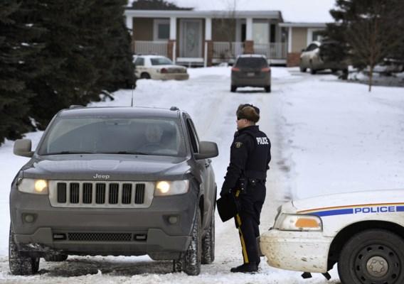 Twee agenten neergeschoten in Canada