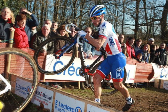Diether Sweeck haalt podium in Nommay, Mourey wint