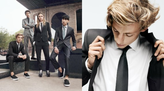 Cara Delevingne is het gezicht van mannencollectie DKNY
