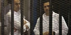 Zonen van Moebarak voorlopig op vrije voeten